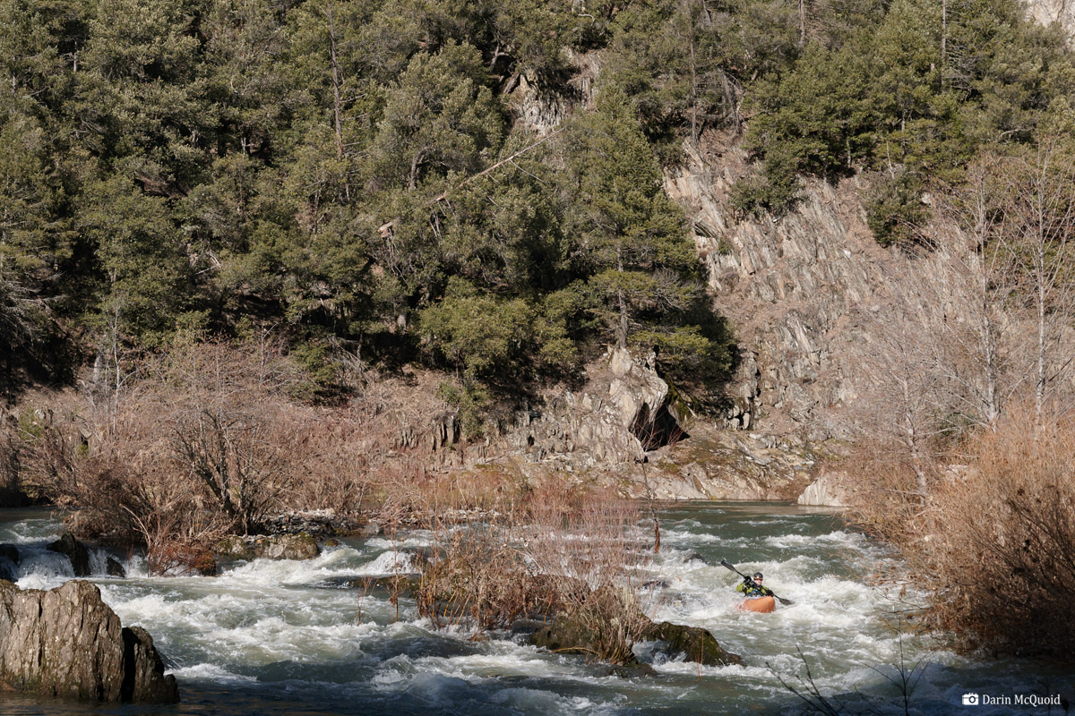 spanish creek quincy california whitewater paddle kayak kayaking prijon mcquoid feather river