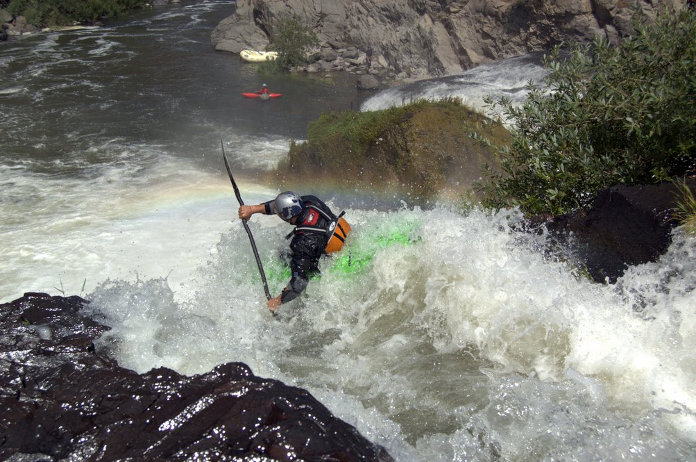 Pit River Falls, whitewater kayaking in Northern California